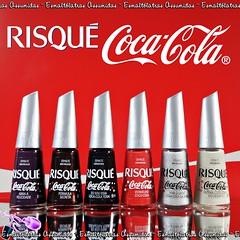 Demonstração: Coleção Risqué Coca - Cola