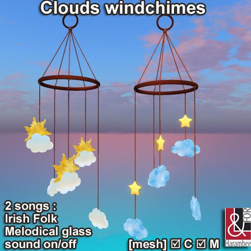 Clouds windchimes