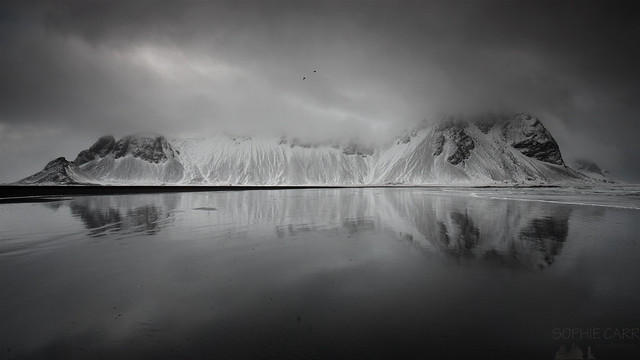 Stokksnes in Cloud