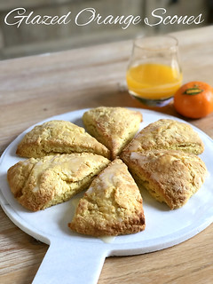 Glazed Orange Scones | by DolceDanielle