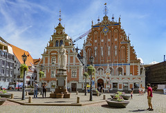House of Blackheads, Riga, Latvia