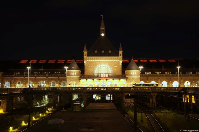 Eingang des Kopenhagener Hauptbahnhofes (26.06.17)