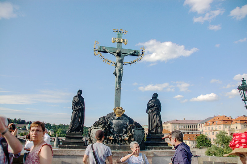 Calvary, the sculpture of the Holy Cross 2