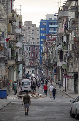 Calle Trocadero, La Habana, Cuba