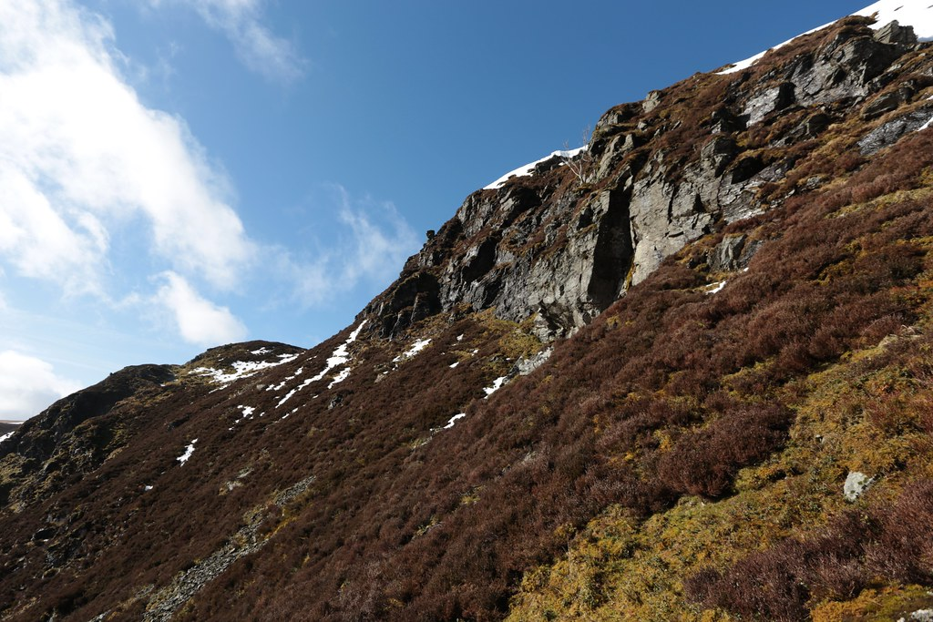 The crags of Ben Chonzie