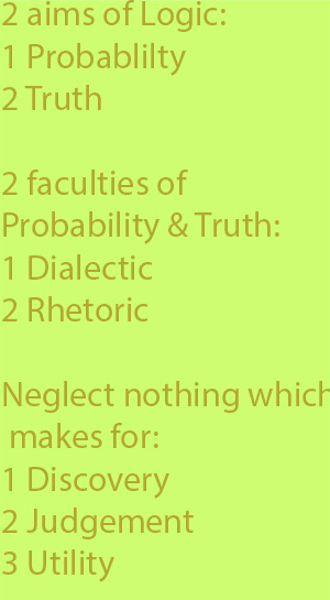 5-1 neglects nothing which makes either for discovery or for judgement or for utility.