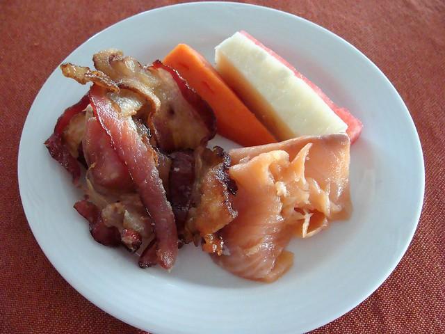 Bacon and Smoked Salmon