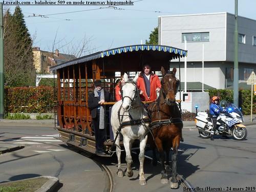 Tramway hippomobile à Bruxelles