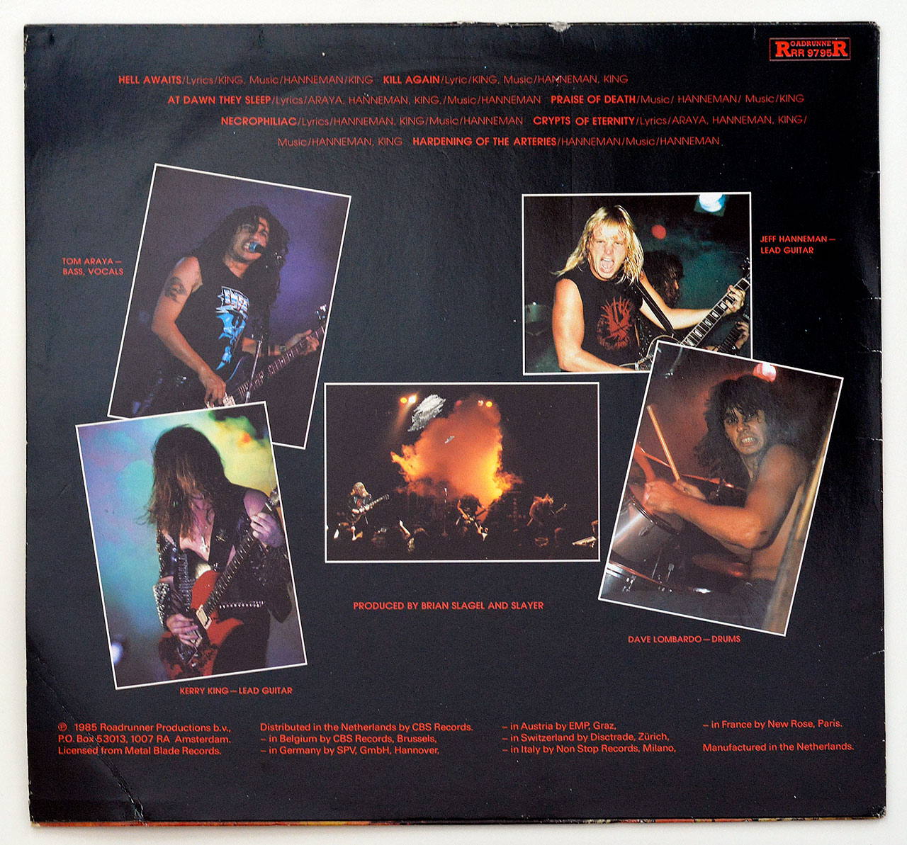 A0290 SLAYER - Hell Awaits (
