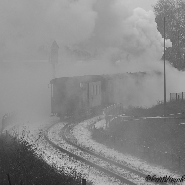 Disappearing in smoke & steam