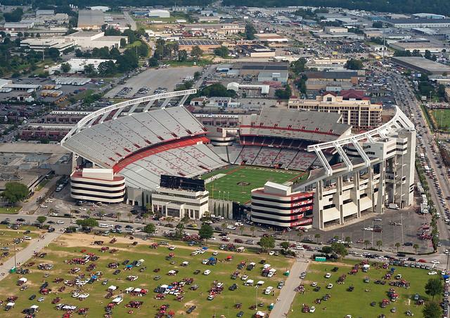 Williams-Brice Stadium Aerial 11