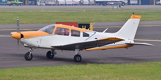 G-BFDI Cardiff Wales Airport
