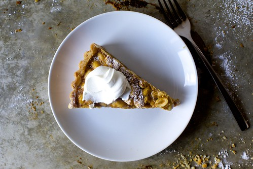 salted peanut tart with sour cream | by smitten kitchen
