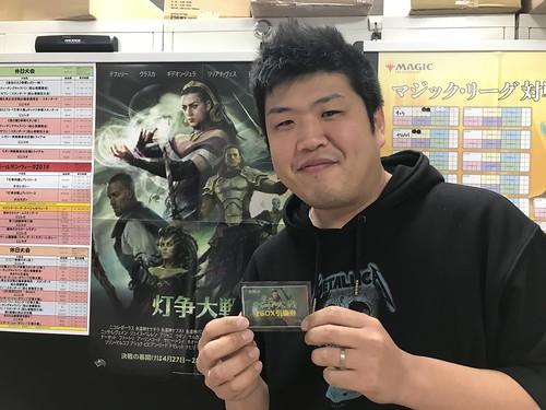 LMC Narita 627th Champion: Kase Takahiro
