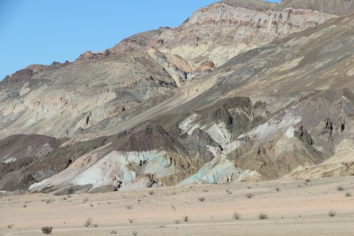 0197 Colorful mineral deposits on Artists Drive in Death Valley   by _JFR_