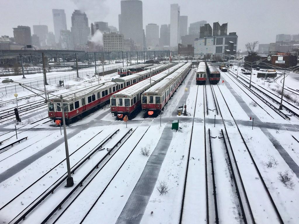 Boston - Snow Trains.
