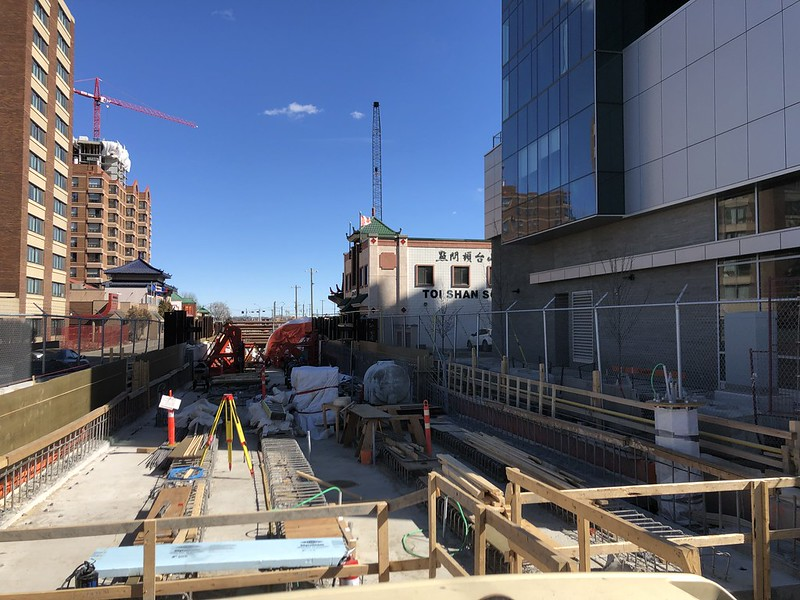 Valley LRT line April 2019