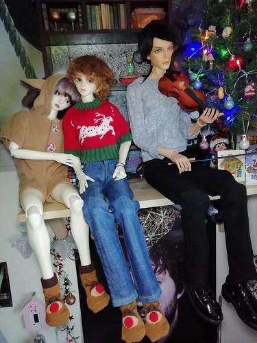 Christmas Socks | by rubydollchaos