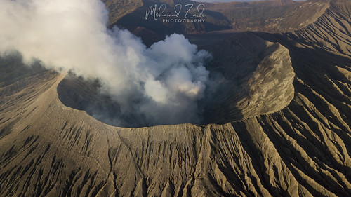 The Mighty Bromo - An Aerial Perspective | by Mohamad Zaidi Photography