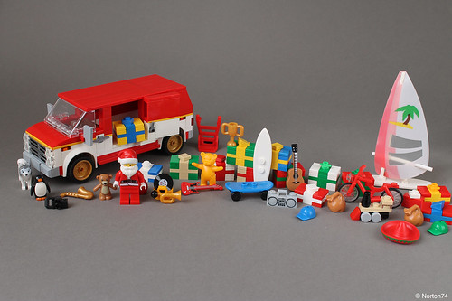 Santa needs a bigger van... | by Andrea Lattanzio