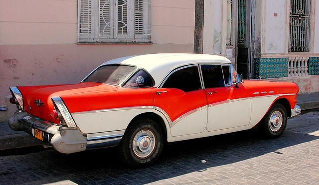 57 Buick in Cuba