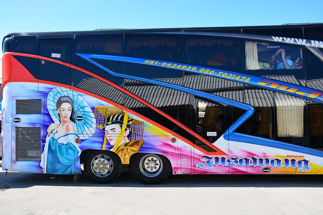 Decorated bus (Northern Thailand 2018)