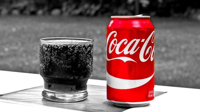 With a Colour 'Splash of Coke' (Explored 3-6-2019)