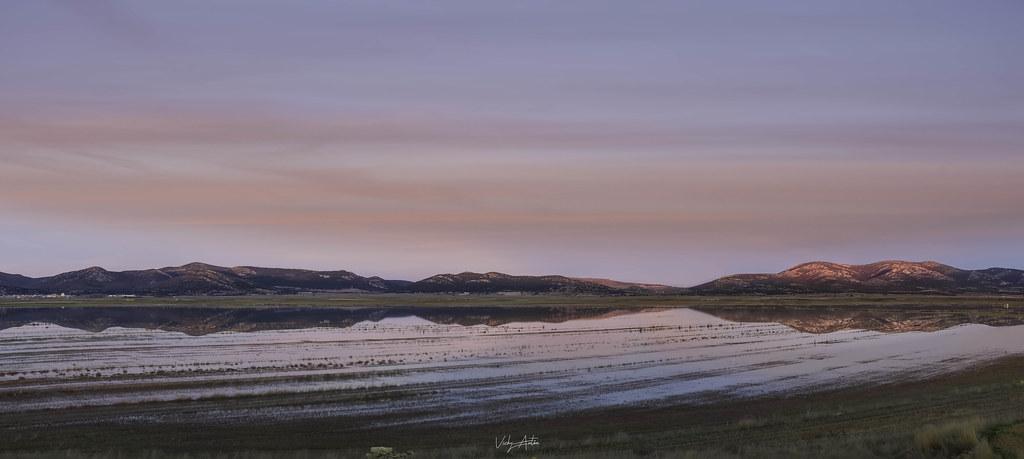 Panorámica de la Laguna de Gallocanta