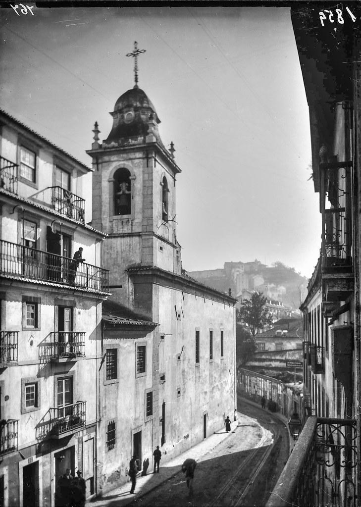 Primitiva Igreja dos Anjos, Lisboa (ante 1901)