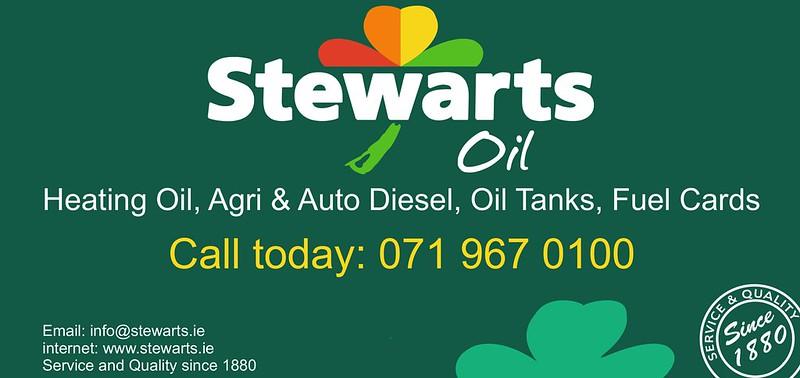 Stewarts Oil Advert