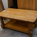 Solid pine coffee table E55