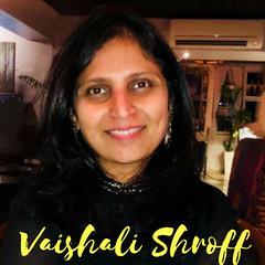 Vaishali Shroff inside