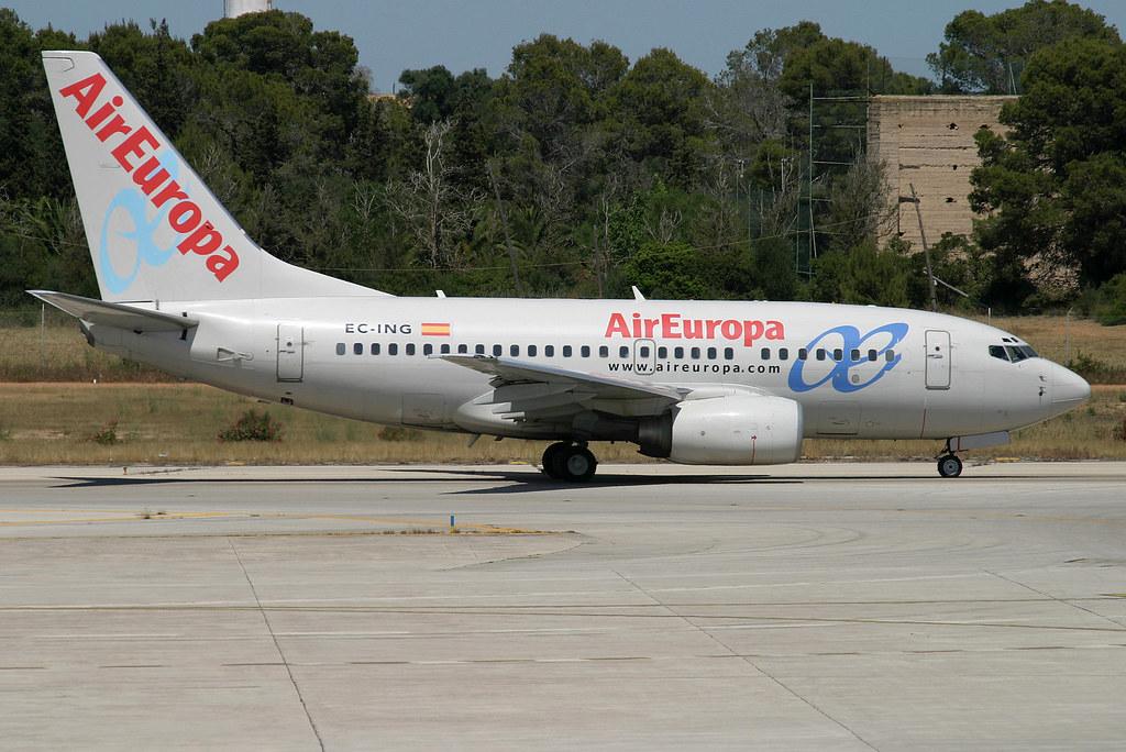 EC-ING. B-737/600. Air Europa. PMI.