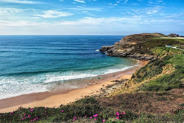 Playa de Los Locos. Suances. Cantabria.