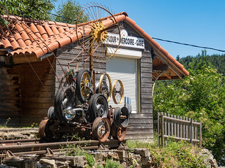 Art - Ancienne mine de Saint-Flour-de-Mercoire - Chemin de Stevenson-2018-D4-6 | by aushiker