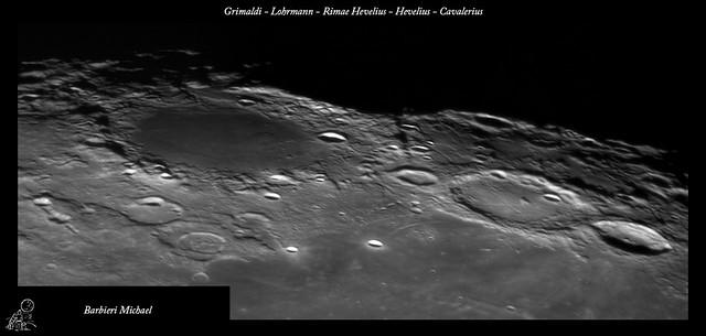Grimaldi - Lohrmann - Rimae Hevelius - Hevelius - Cavalerius 24 11 2015