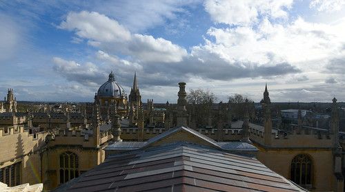 mac010665yahoocouk markcoleman markandrewcoleman videcormeumimages vide cor meum oxford nikon sheldonian oxfordshire spires clouds sky rooftops historic england college town city learning education