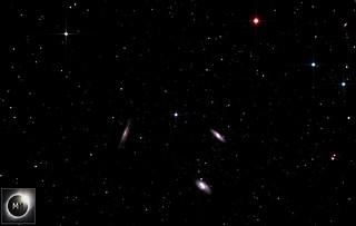 M65, M66 & NGC 3628 - The Leo Triplet 28/03/19