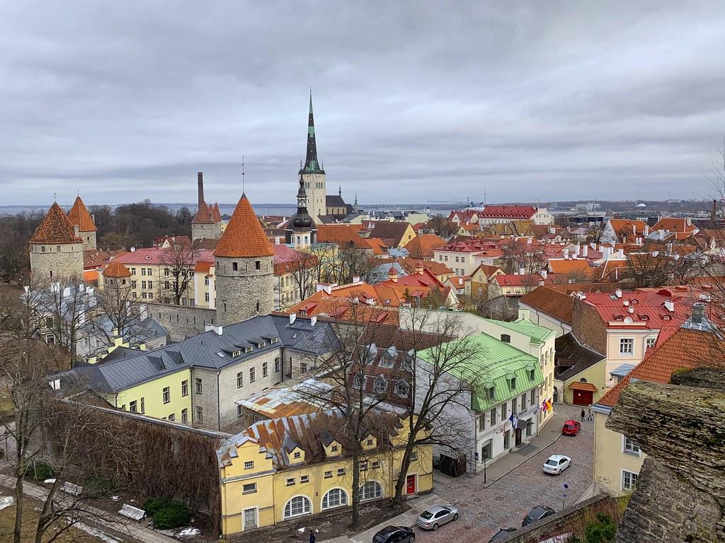 Tallinn's colourful Old Town