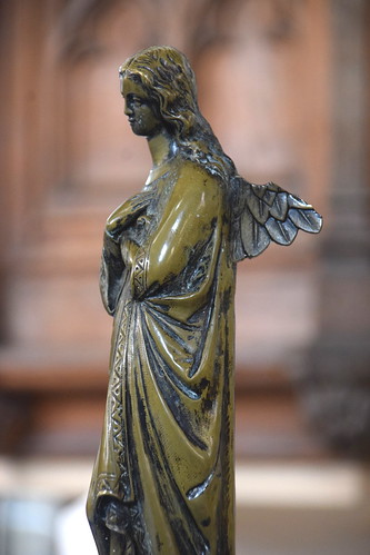 lectern: art nouveau angel | by Simon_K