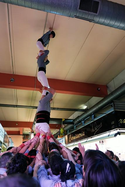 Actuació al Mercat D'Hostafrancs dia 6 d'Abril del 2019, Barcelona
