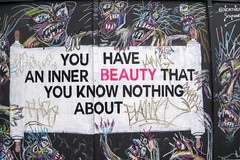 DSC_6154 Shoreditch London Old Street Artwork. You have an inner Beauty that you know nothing about