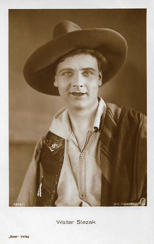 Walter Slezak in Ledige Mütter (1928)