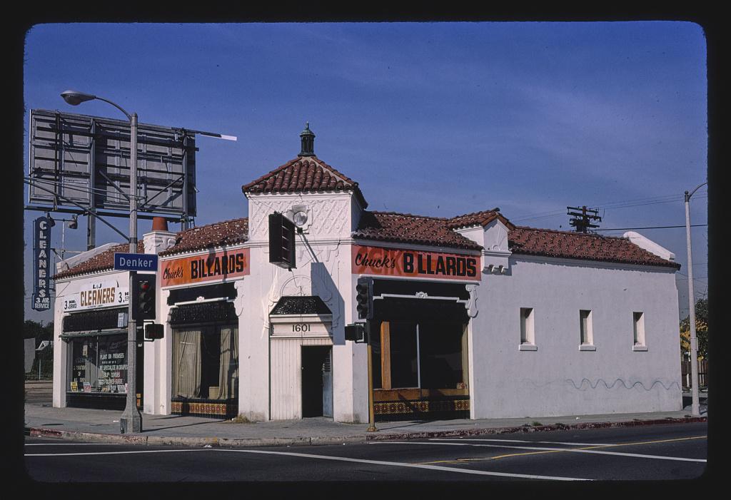 Chuck's Billiards, 1601 Manchester, Los Angeles, California (LOC)