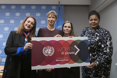 "Press Briefing on High-Level Event on ""Women in Power"" 