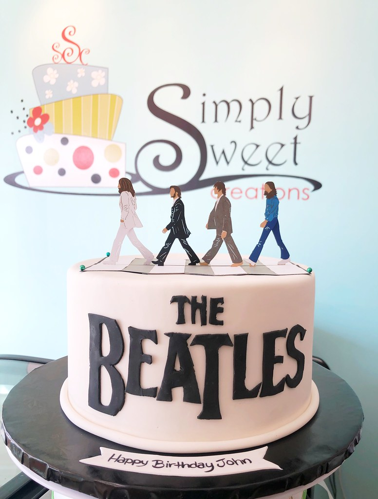 Awesome Beatles Cake A Photo On Flickriver Funny Birthday Cards Online Alyptdamsfinfo