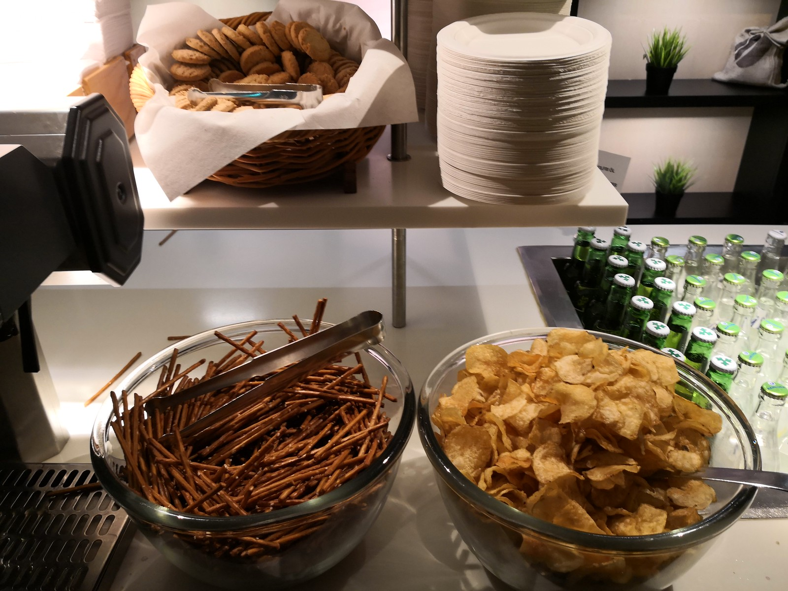 Cookies, pretzels and chips