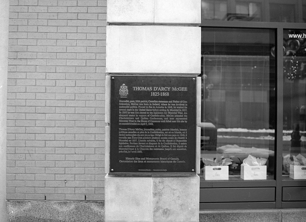 Project:1867 - Thomas D'Arcy McGee