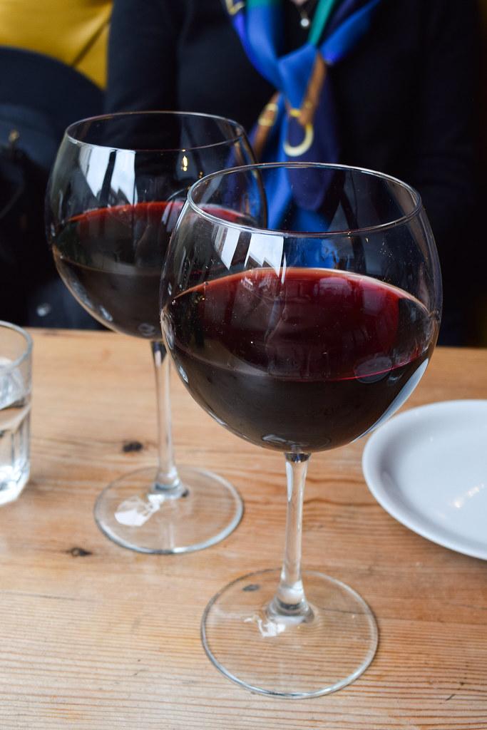 Red Wine at Luben's Pizza, Folkestone