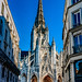 Exterior of the The Church of Saint-Maclou, Rouen, France-54